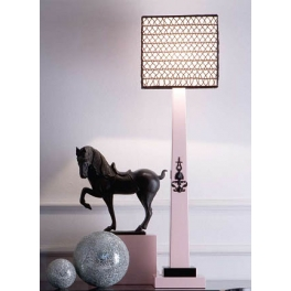 Настольная лампа Sigma L2 PINK & BLACK CL1869