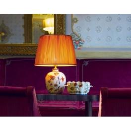 Настольная лампа Le Porcellane Fiori Policromo 5704